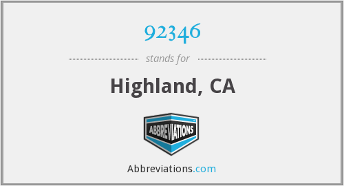 What does Highland stand for?