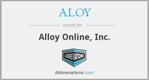 ALOY - Alloy Online, Inc.