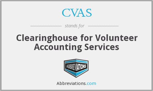CVAS - Clearinghouse for Volunteer Accounting Services