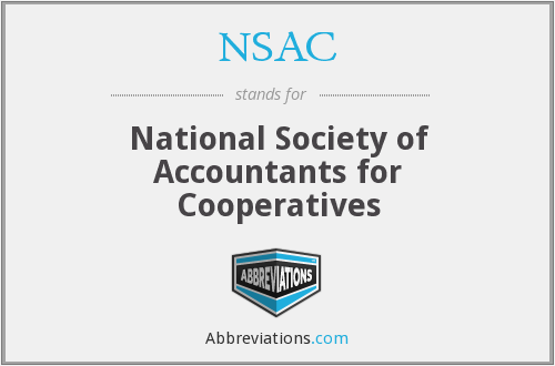 NSAC - National Society of Accountants for Cooperatives