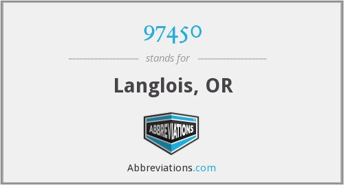 What does Langlois stand for?