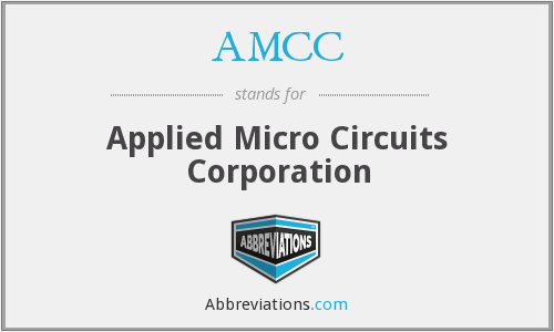 What does AMCC stand for?
