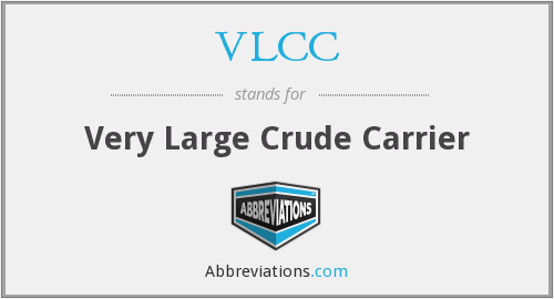 What does VLCC stand for?