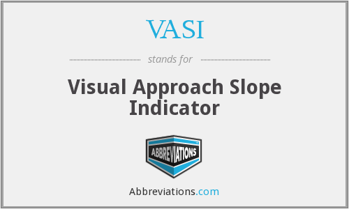 What does VASI stand for?