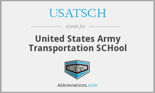 What does USATSCH stand for?