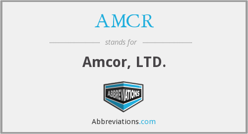 What does AMCR stand for?