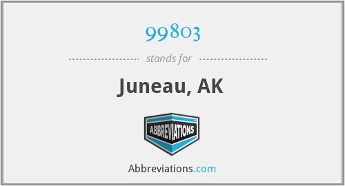 99803 - Juneau, AK