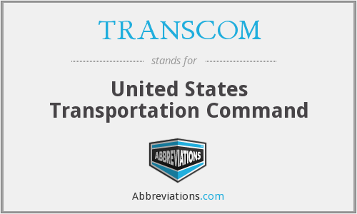 What does TRANSCOM stand for?