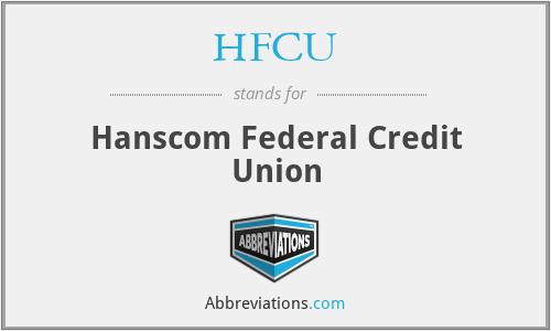 HFCU - Hanscom Federal Credit Union