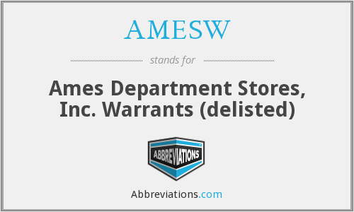 What does AMESW stand for?