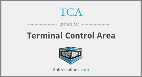 TCA - Terminal Control Area
