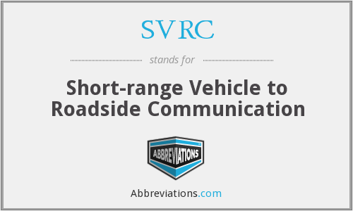 What does SVRC stand for?