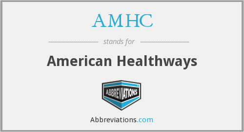 What does AMHC stand for?