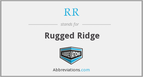 RR - Rugged Ridge