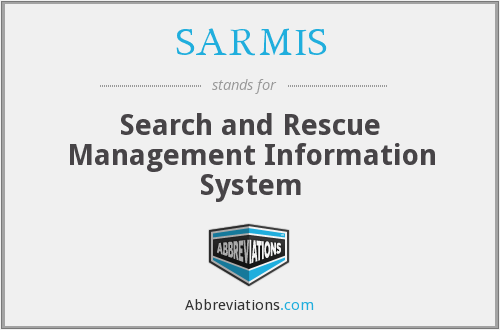 SARMIS - Search and Rescue Management Information System