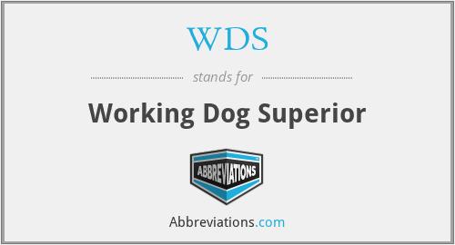 WDS - Working Dog Superior
