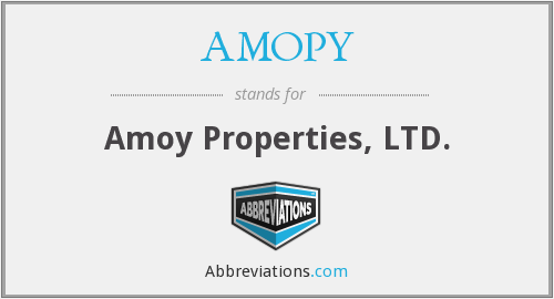 What does AMOPY stand for?