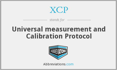 XCP - Universal measurement and Calibration Protocol