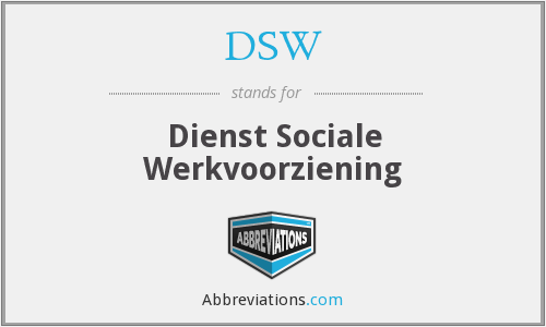 DSW - Dienst Sociale Werkvoorziening