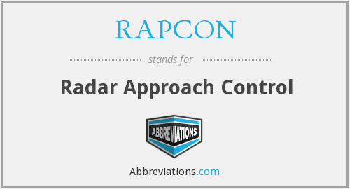 What does RAPCON stand for?