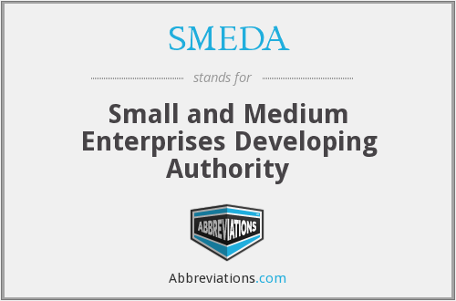 What does SMEDA stand for?