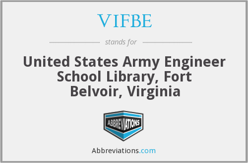 What does VIFBE stand for?