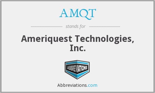 What does AMQT stand for?
