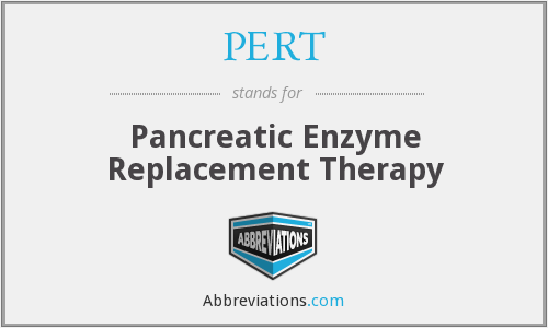 PERT - Pancreatic Enzyme Replacement Therapy