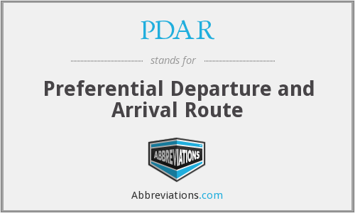 PDAR - Preferential Departure and Arrival Route