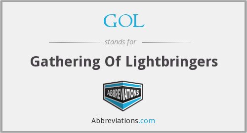GOL - Gathering Of Lightbringers