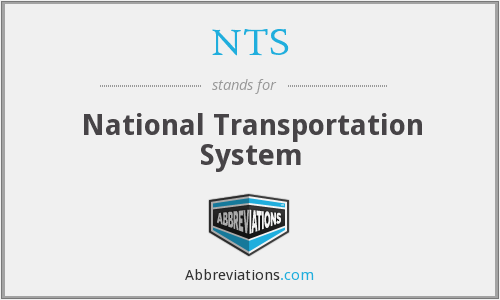 NTS - National Transportation System