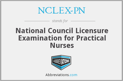 What does NCLEX-PN stand for?