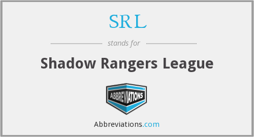 SRL - Shadow Rangers League