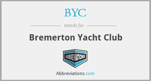 BYC - Bremerton Yacht Club