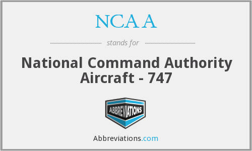 NCAA - National Command Authority Aircraft - 747