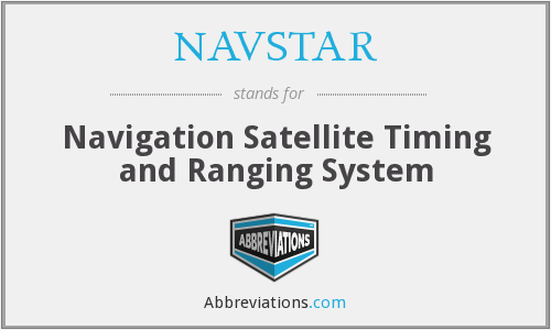 What does NAVSTAR stand for?