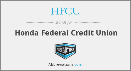 HFCU - Honda Federal Credit Union