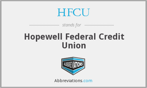 HFCU - Hopewell Federal Credit Union