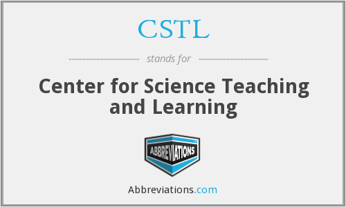 CSTL - Center for Science Teaching and Learning