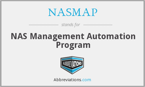 NASMAP - NAS Management Automation Program