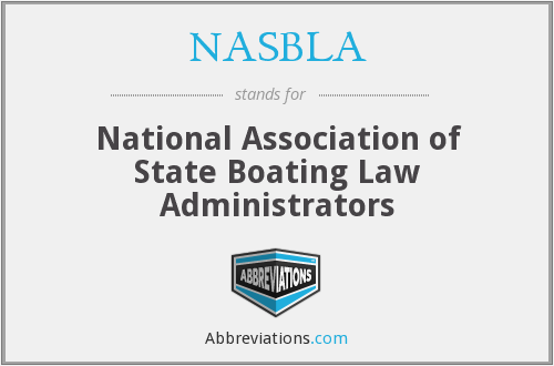 What does NASBLA stand for?