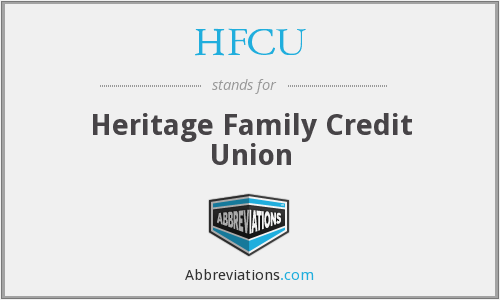 HFCU - Heritage Family Credit Union