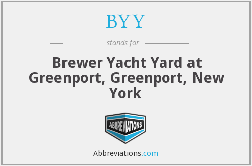 BYY - Brewer Yacht Yard at Greenport, Greenport, New York