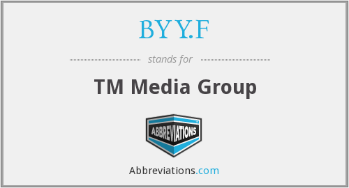BYY.F - TM Media Group