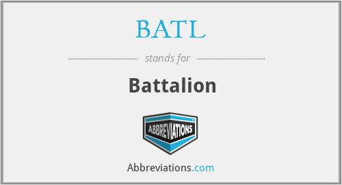 BATL - Battalion