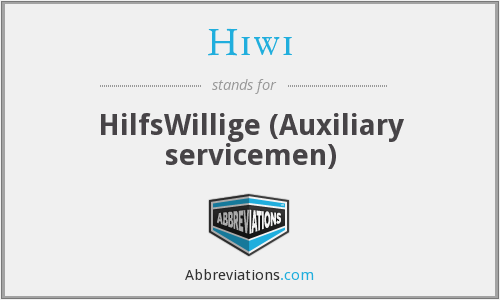 What does HIWI stand for?