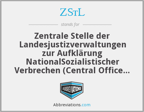 What does ZSTL stand for?