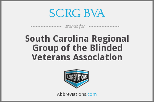 What does SCRG BVA stand for?