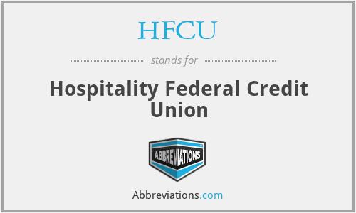 HFCU - Hospitality Federal Credit Union