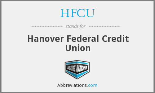 HFCU - Hanover Federal Credit Union